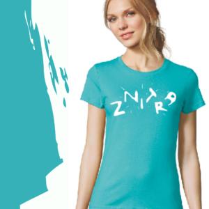 Dámské tričko ZNITRA [tyrkys]